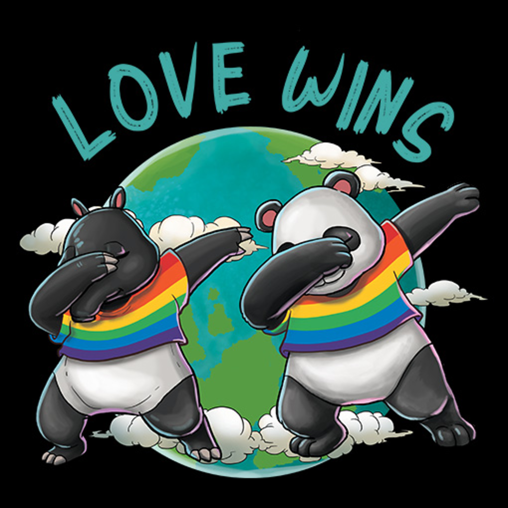 MeWicked: Love Wins - LGBTQ+ Dabbing Panda and Tapir - Pride Parade