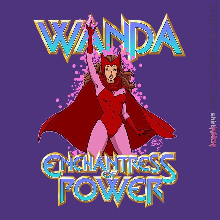 ShirtPunch: Scarlet Witch Wanda