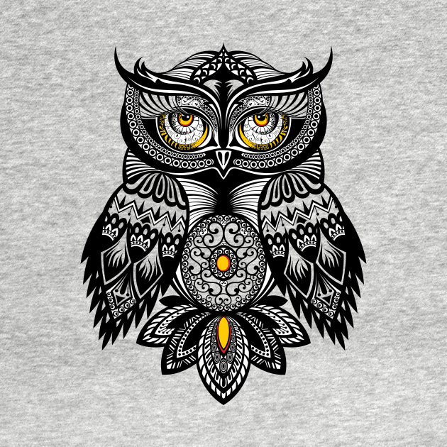 TeePublic: OWL bohemien style