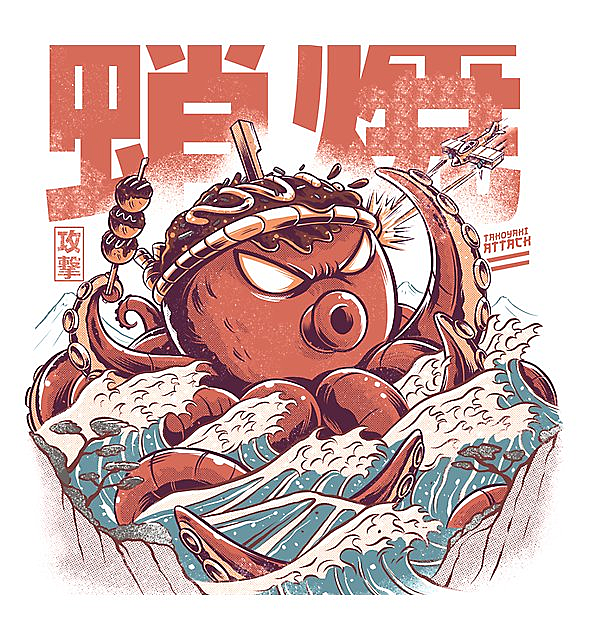 RedBubble: Takoyaki Attack