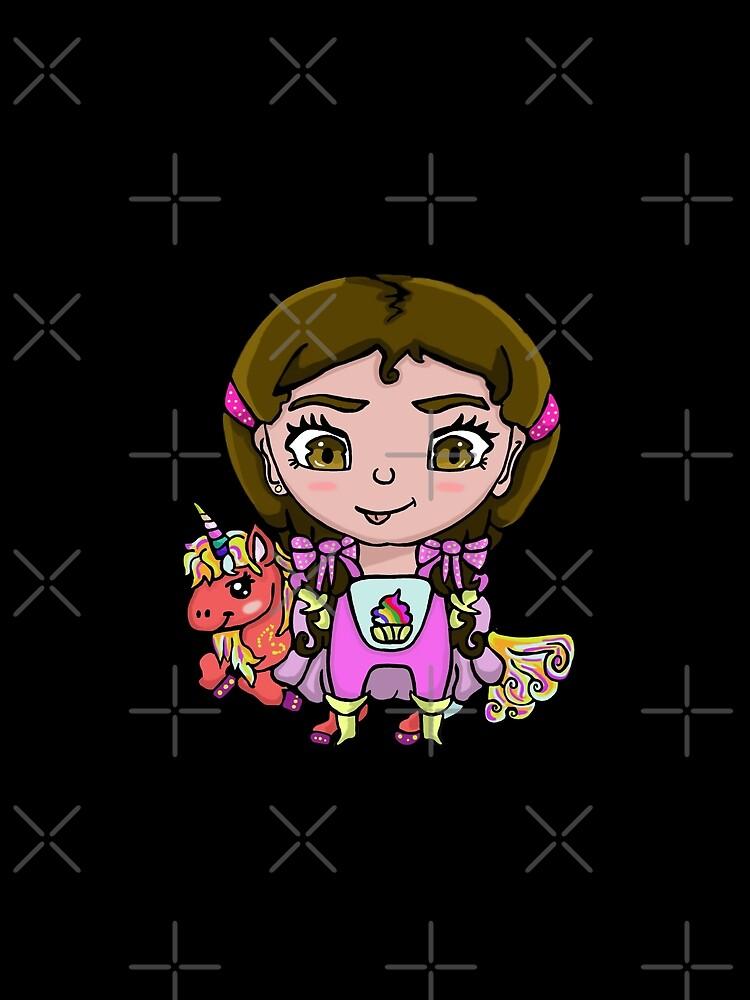 RedBubble: Girl Superhero - Unicorn Pink