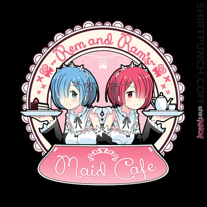 ShirtPunch: Maid Cafe