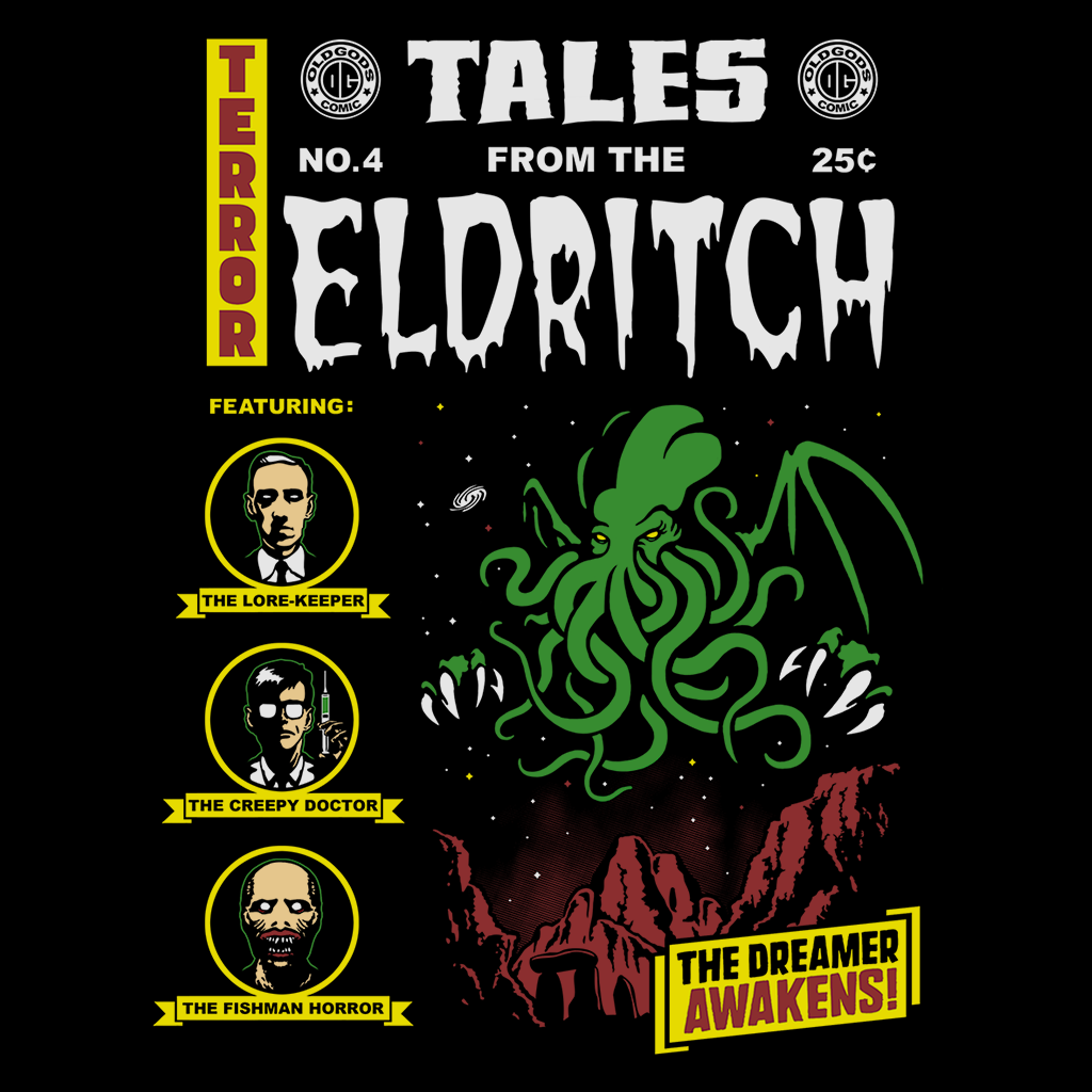 Pop-Up Tee: Eldritch