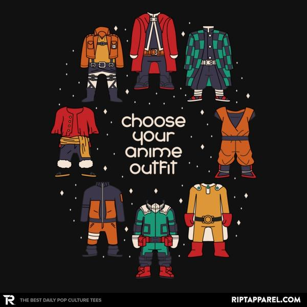 Ript: Choose Your Anime Outfit