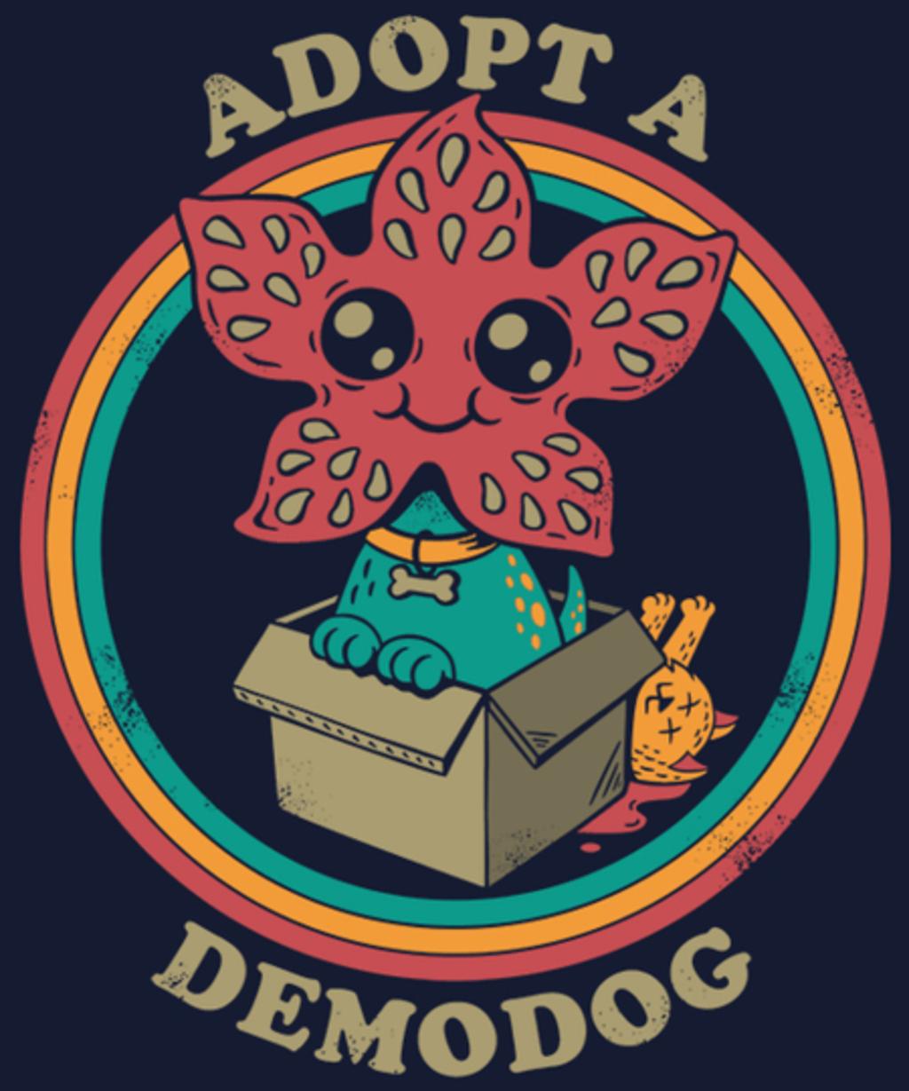 Qwertee: Adopt a Demodog
