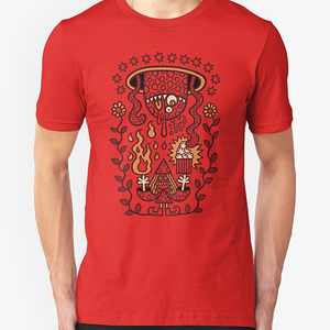 RedBubble: Grand Magus Summons Entity With Dark Popcorn Power