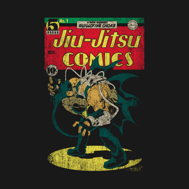 TeePublic: Jiu-Jitsu Comics