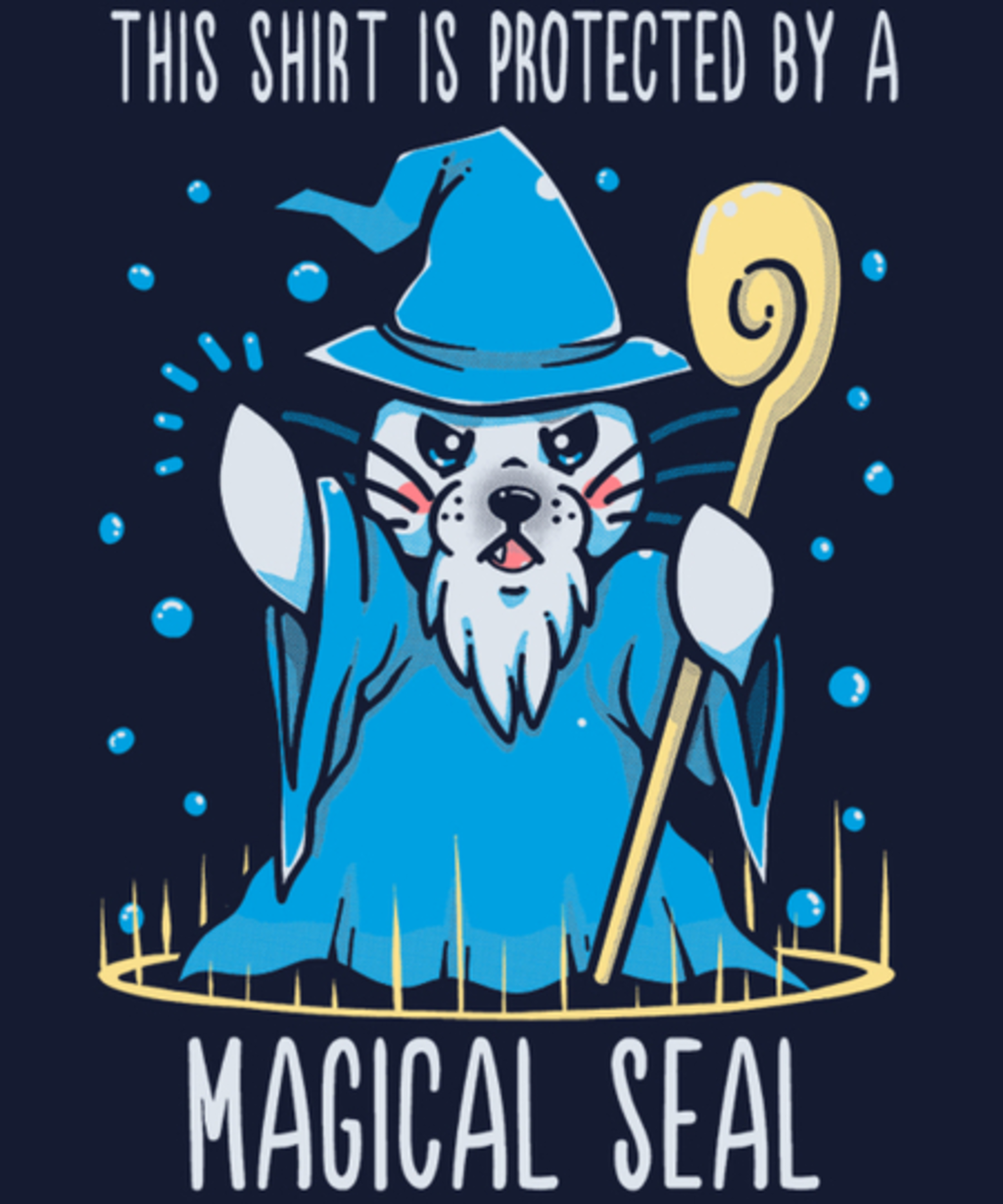 Qwertee: Protected by a Magical Seal