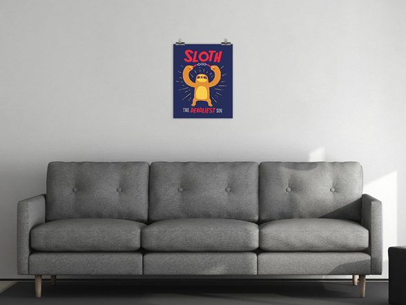 "Woot!: ""The Deadliest Sin"" Poster"