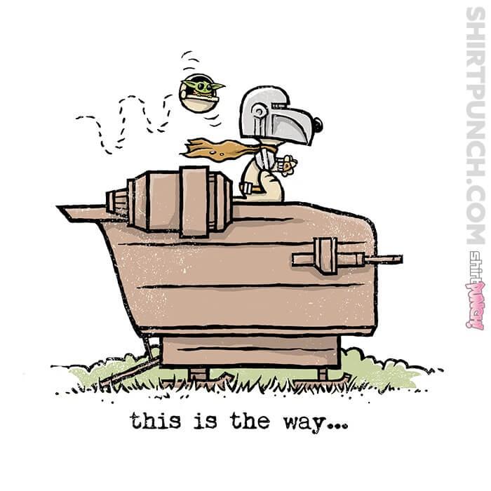 ShirtPunch: Snoopy Mando