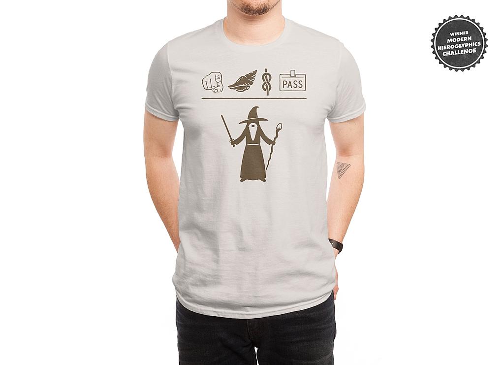 Threadless: Wizard Hieroglyph