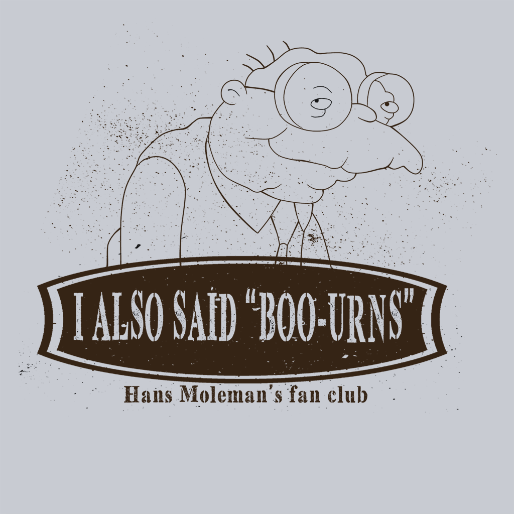 Pop-Up Tee: Hans Moleman Fans Club