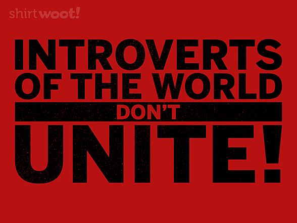 Woot!: Don't Unite!