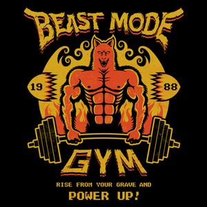 Pop-Up Tee: Beast Mode Gym