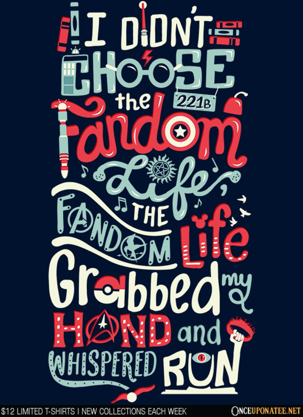 Once Upon a Tee: Fandom Life