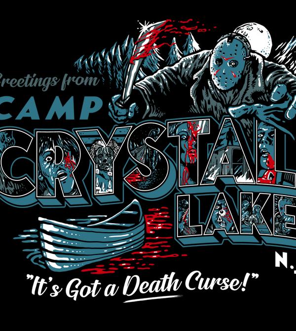 teeVillain: Crystal Lake
