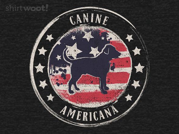 Woot!: Canine Americana