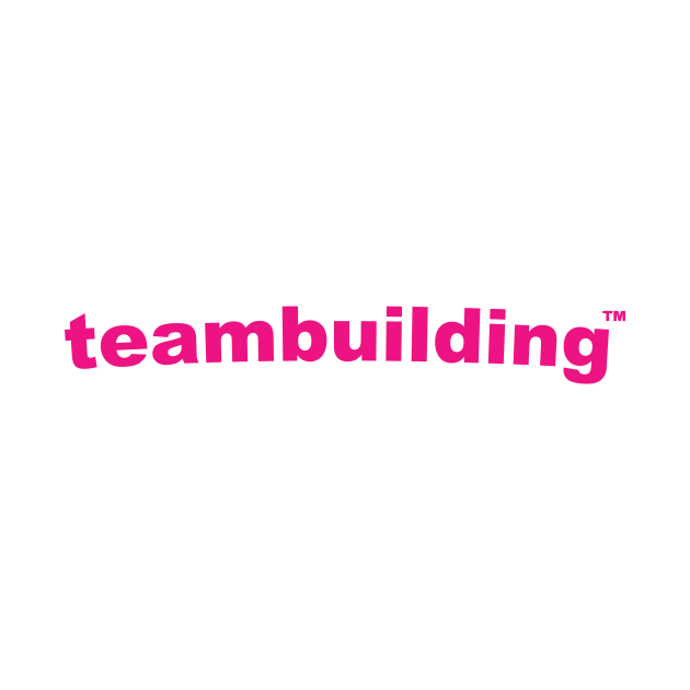 TeePublic: TeamBuilding Logo Pink