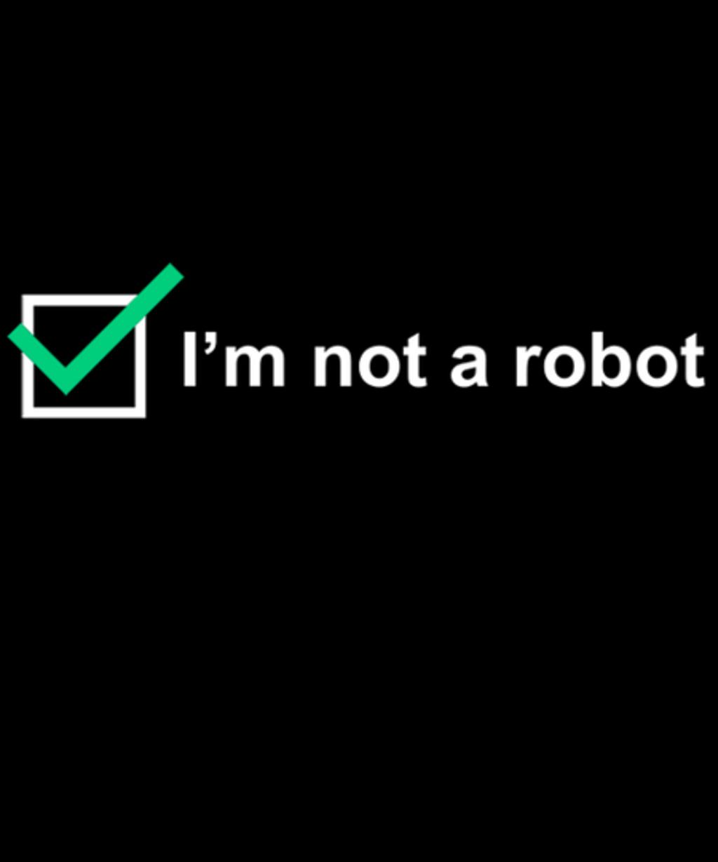 Qwertee: I'm not a robot