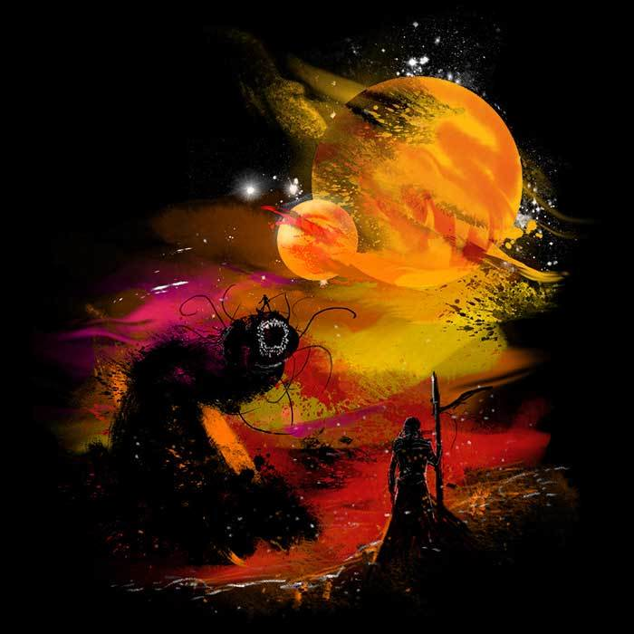 Once Upon a Tee: Sunset on Arrakis