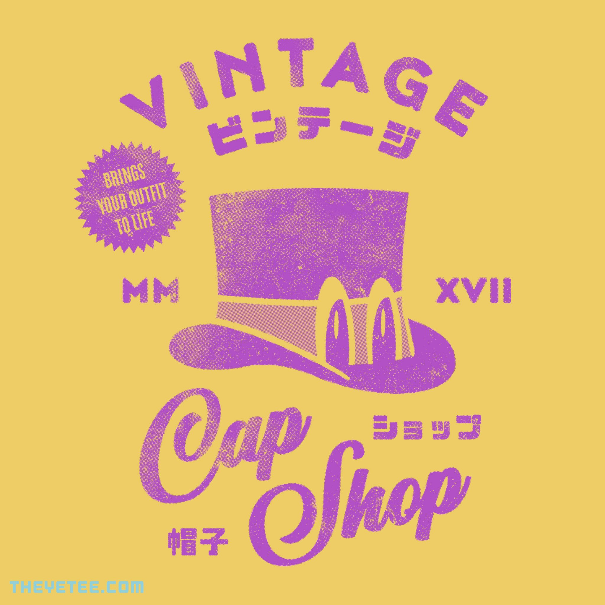 The Yetee: Vintage Cap Shop