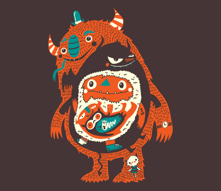 TeeFury: You Are Who You Eat