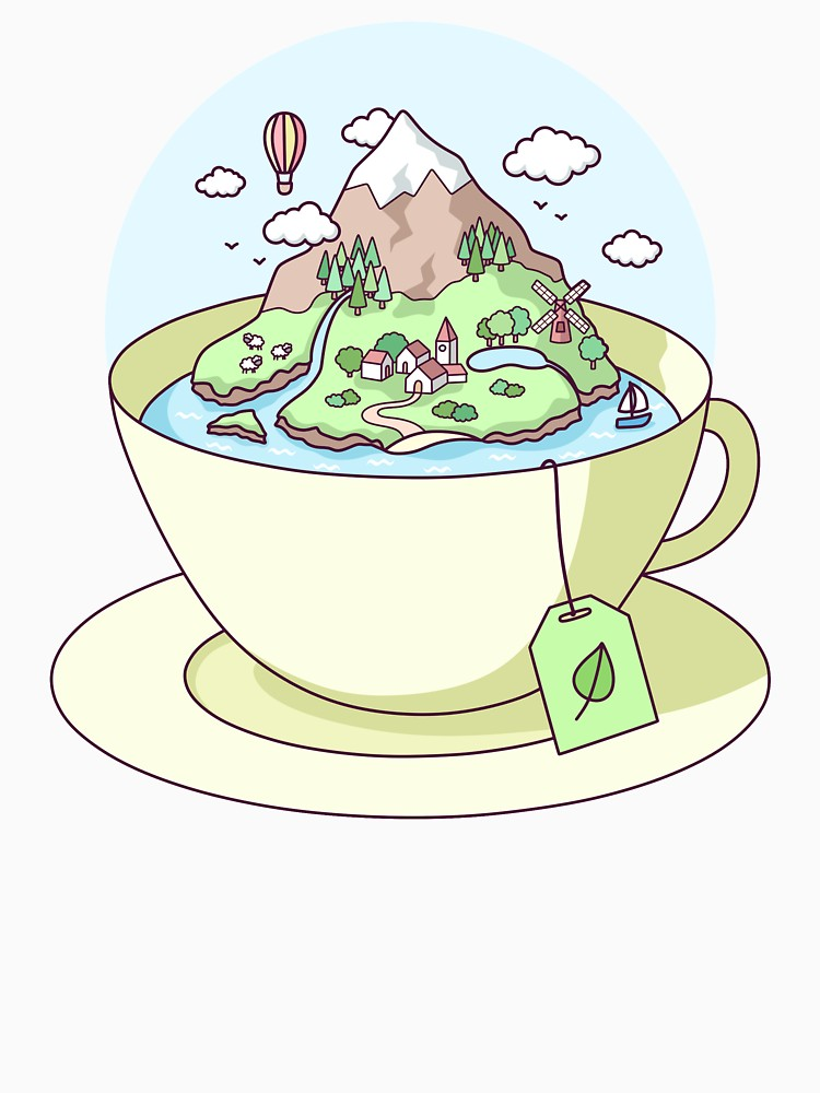 RedBubble: Tea Island