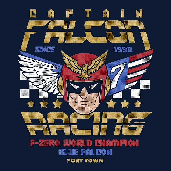 Once Upon a Tee: Falcon Racing
