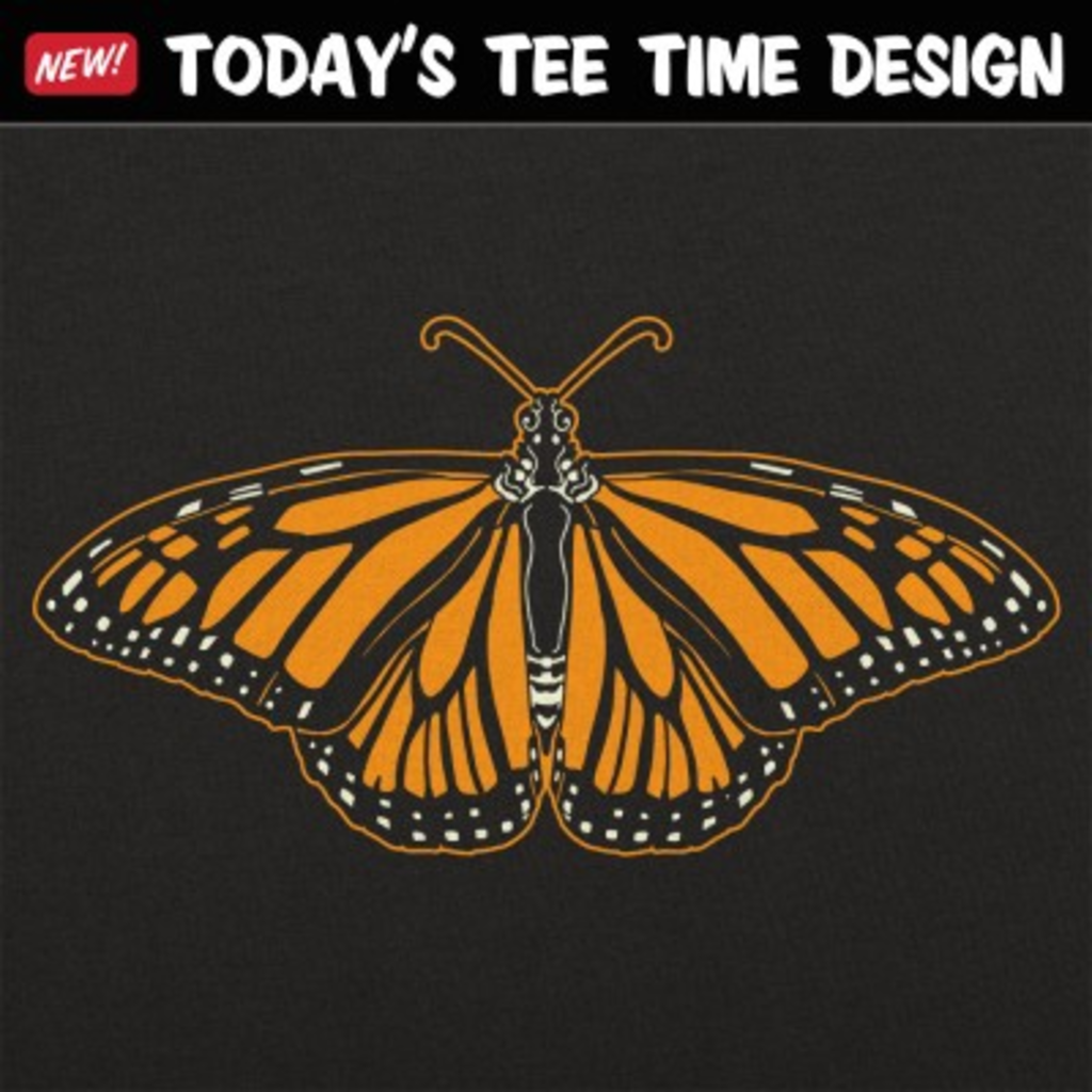 6 Dollar Shirts: Monarch Butterfly