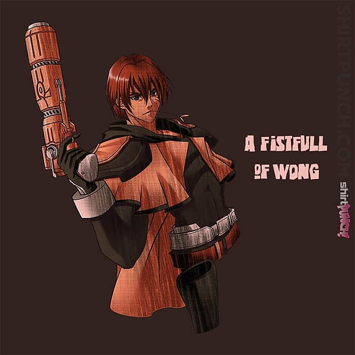 ShirtPunch: Fist Full Of Wong