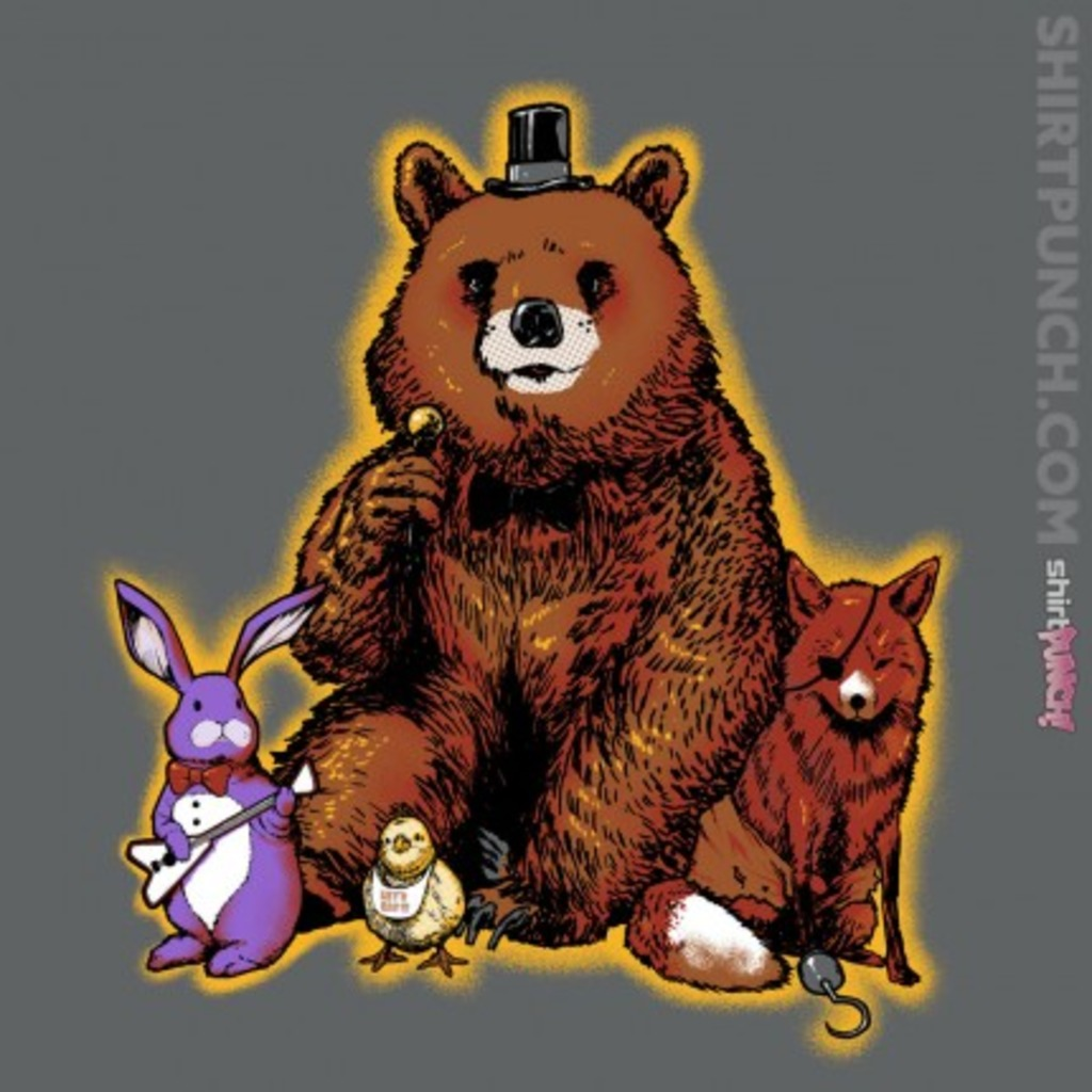 ShirtPunch: Five Forest Nights