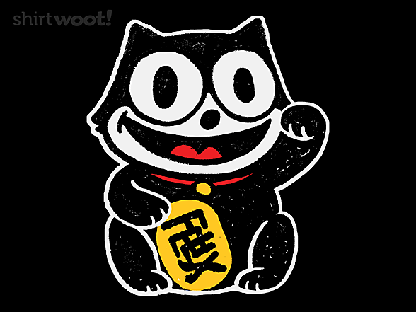 Woot!: Lucky Black Cat
