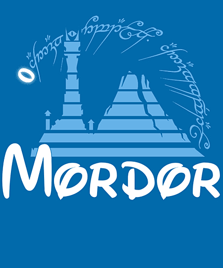 Qwertee: Mordor Pictures