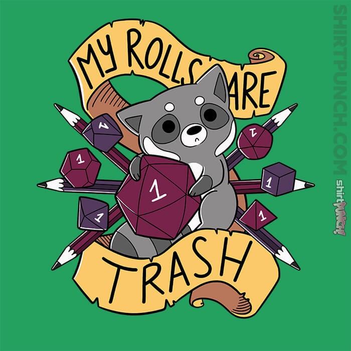ShirtPunch: RPG Raccoon