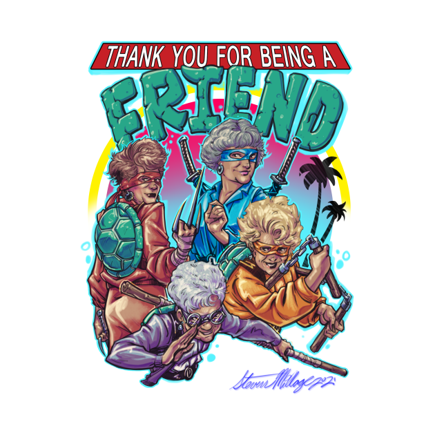 TeePublic: Thank You For Being A Friend