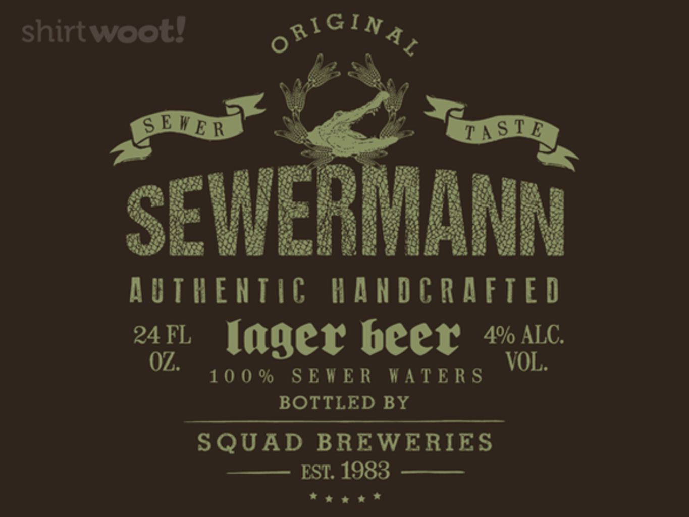 Woot!: Sewermann - Squad Breweries - $7.00 + $5 standard shipping