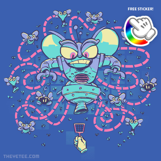 The Yetee: A Visit From The Bug Squad
