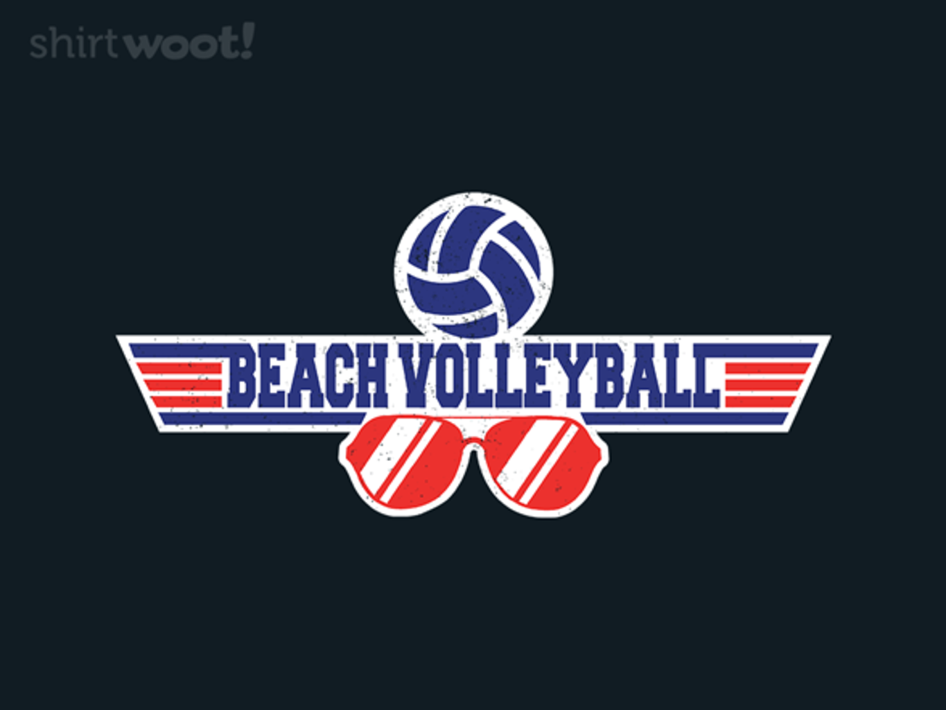 Woot!: Retro Beach Volleyball - $15.00 + Free shipping