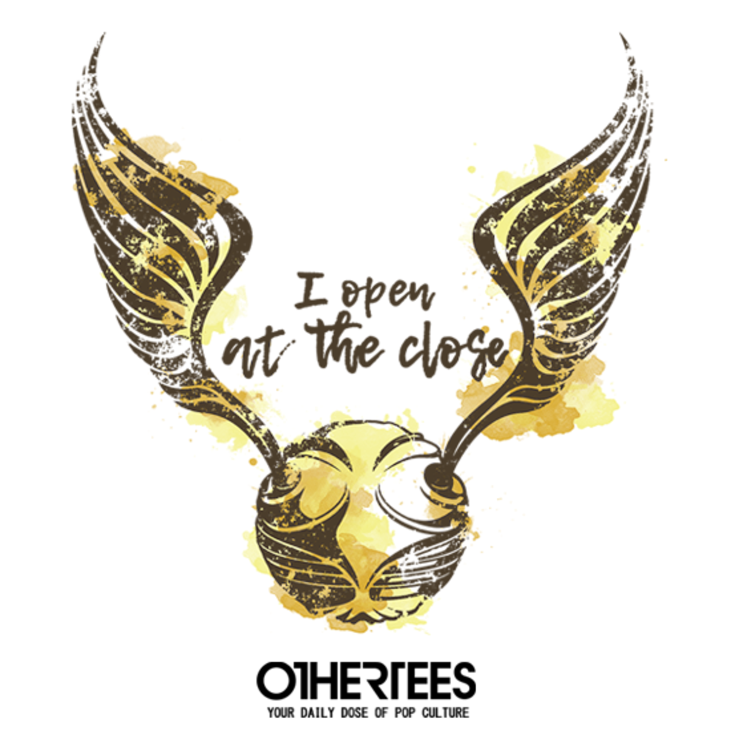 OtherTees: Golden Snitch