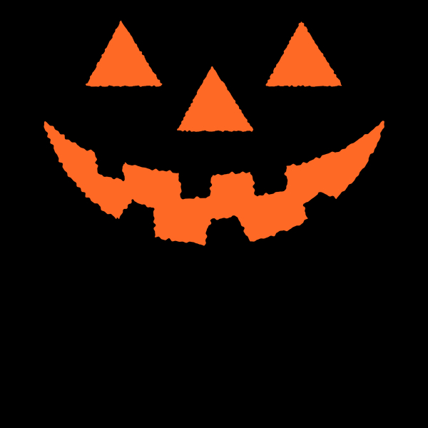 NeatoShop: Jack O' Lantern Pumpkin Face ORANGE Halloween Costume TShirt