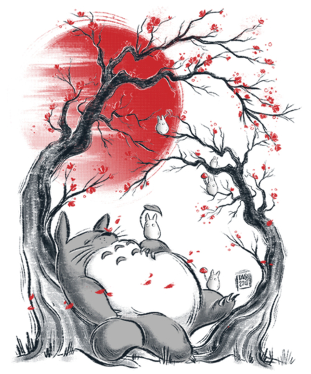 Qwertee: Totoro's dream