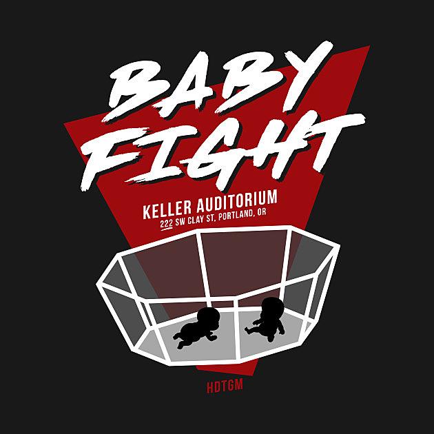 TeePublic: Baby Fight