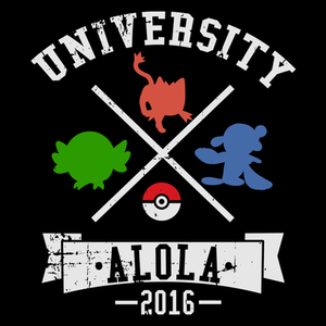 Pop-Up Tee: University Alola