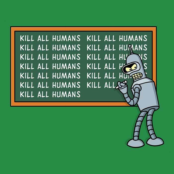 Once Upon a Tee: Not Kill All Humans