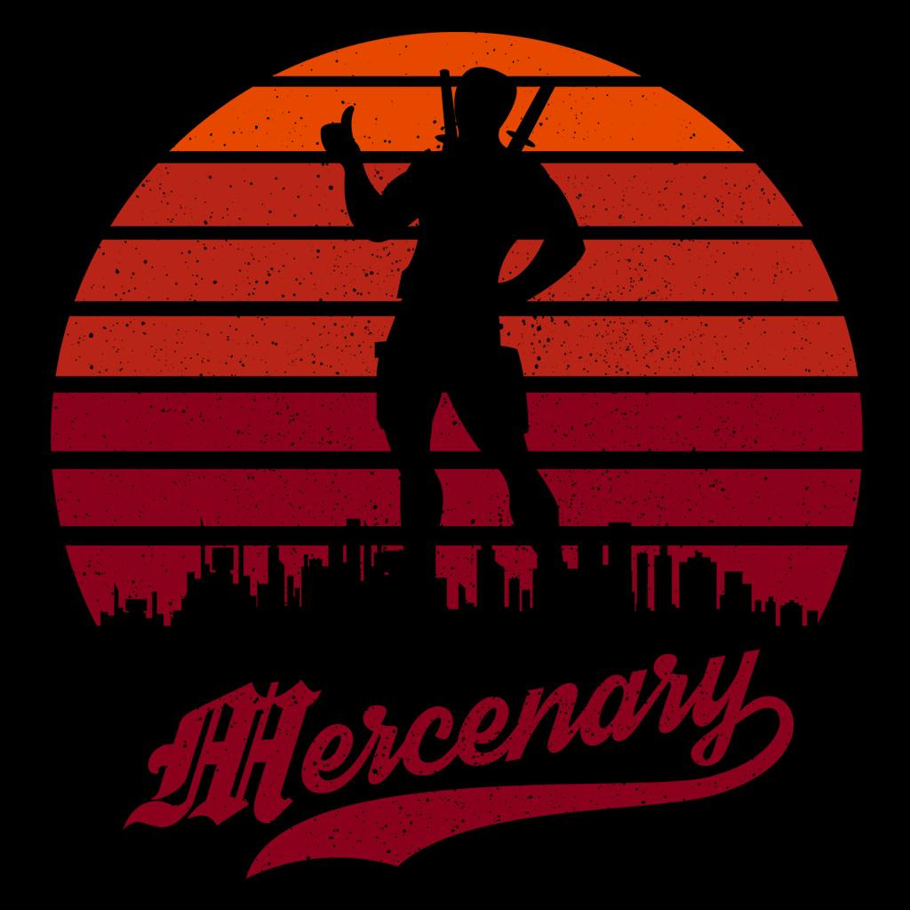 Pop-Up Tee: Mercenary Sun Set