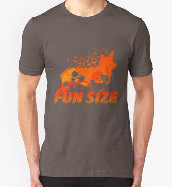 RedBubble: Fun Size Corgi Silhouette