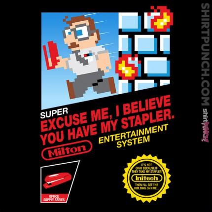 ShirtPunch: Super Office Milton