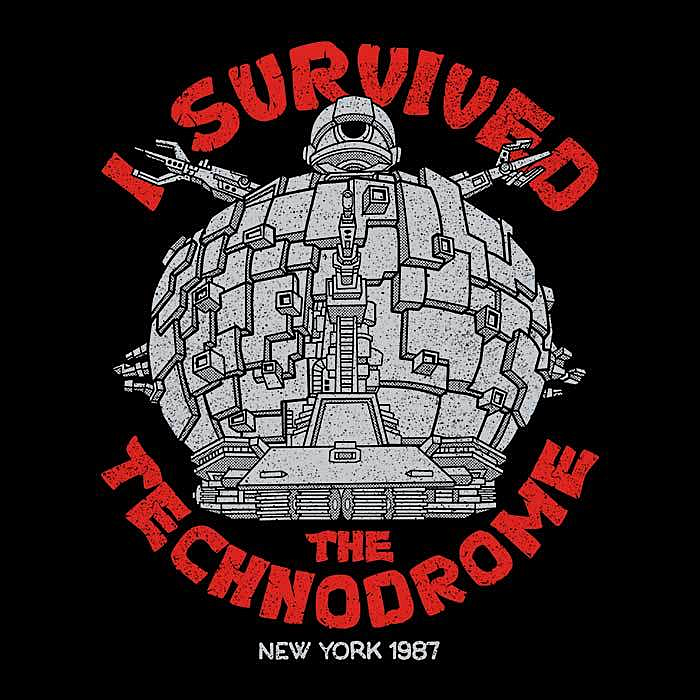 Once Upon a Tee: I Survived the Technodrome