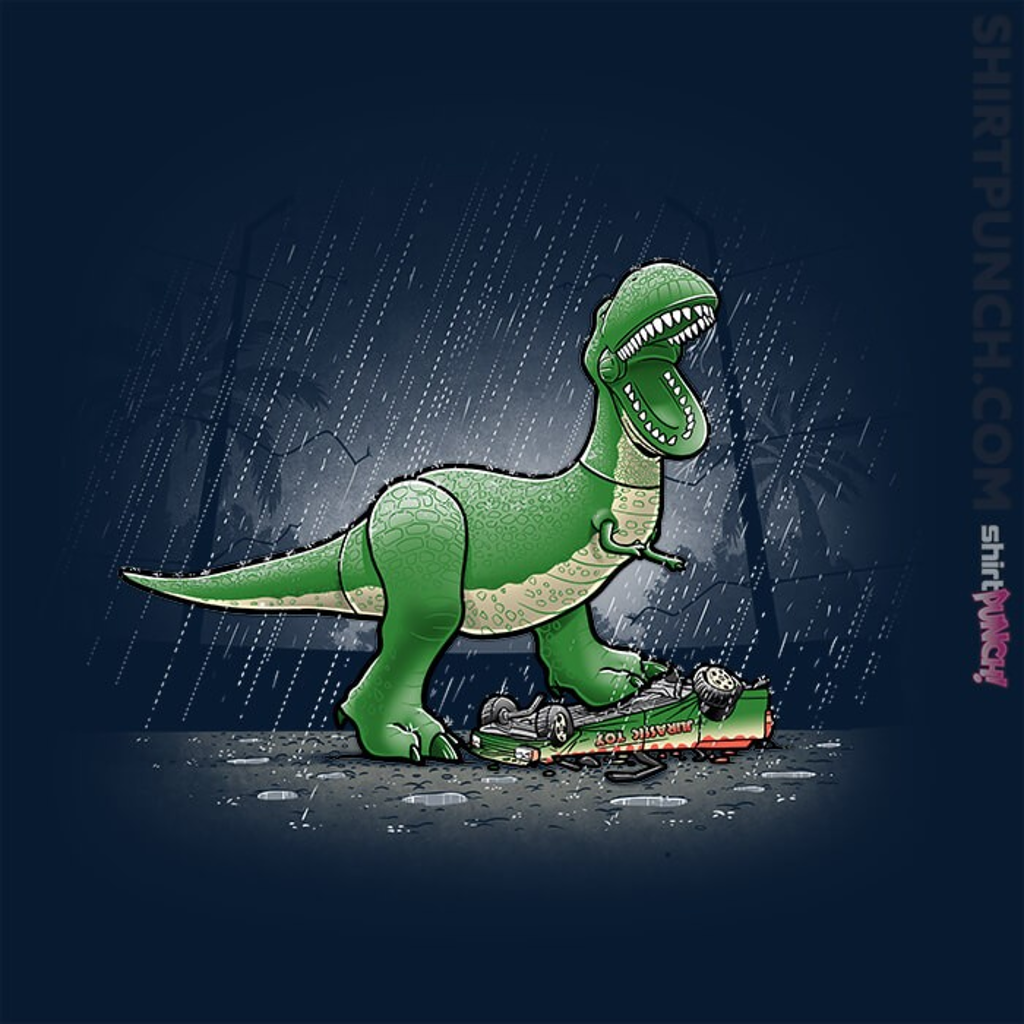 ShirtPunch: Jurassic Toy