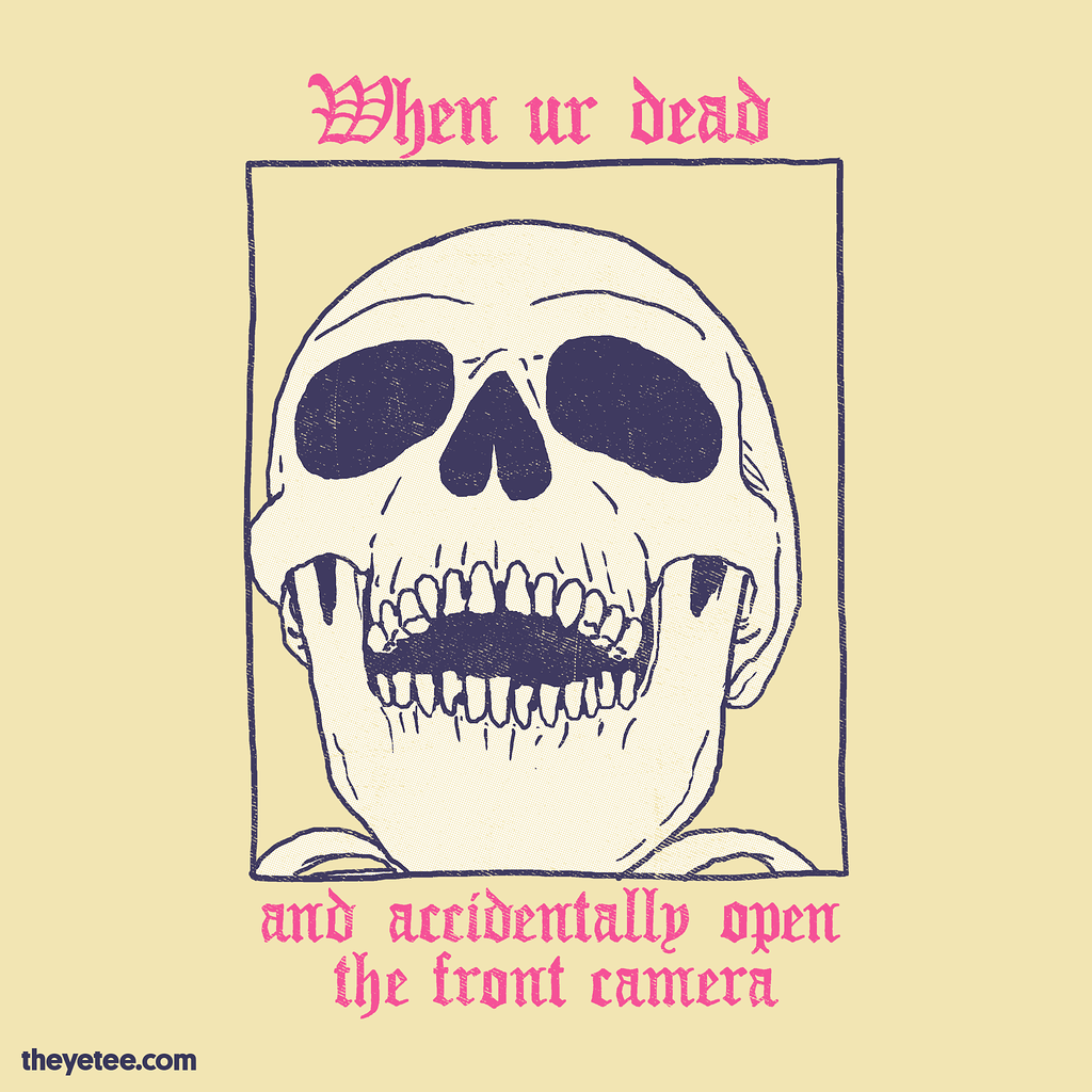 The Yetee: AcciDEADtal Selfie